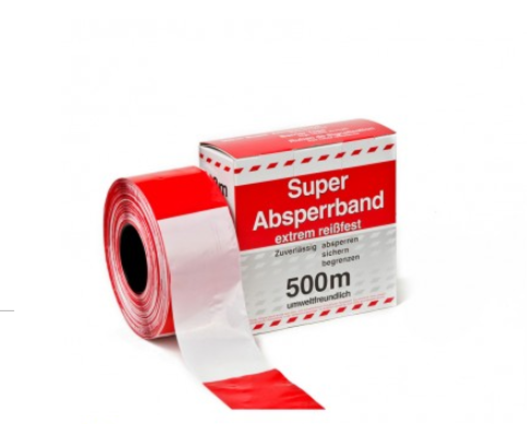Bekend Afzetlint Rood/wit - SafetyFireProducts AC94